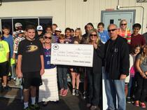 Parker Ramirez Foundation donates $1200 for 5th Grade OSS