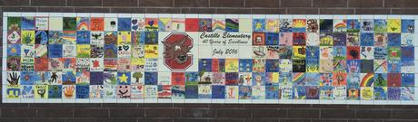 40th Anniversary Tile Wall